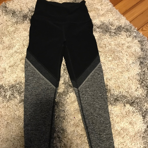 080247549e3b0 Beyond Yoga Pants - Beyond yoga space dye tri panel midi leggings